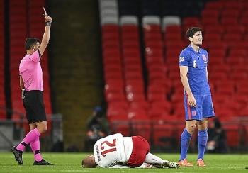 Đội trưởng MU thẻ đỏ, ĐT Anh cay đắng nhận thất bại ở UEFA Nations League