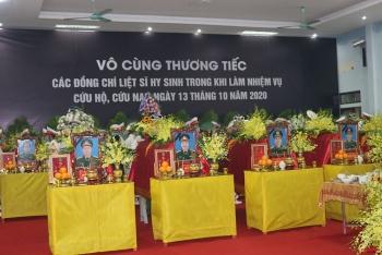 Hôm nay (18/10), tổ chức Lễ truy điệu 13 liệt sĩ hy sinh trên đường cứu hộ ở Rào Trăng 3