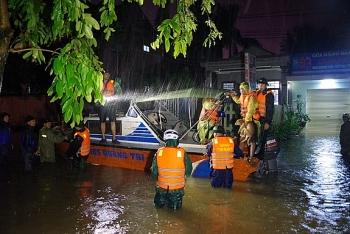 Một Thượng úy công an hy sinh khi đi làm nhiệm vụ cứu hộ ở Quảng Trị