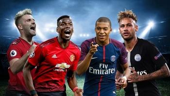 Lịch thi đấu, kênh trực tiếp vòng 1 Champions League 2020/21: PSG vs MU