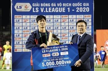 Bóng đá Việt Nam hôm nay (20/10/2020): Công Phượng dùng giải thưởng cá nhân ủng hộ miền Trung