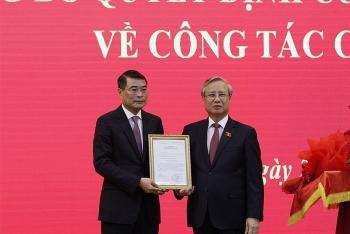 Trao quyết định của Bộ Chính trị phân công ông Lê Minh Hưng làm Chánh Văn phòng Trung ương Đảng