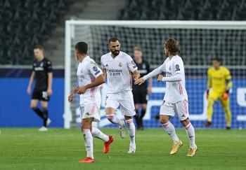 Kết quả bóng đá Cúp C1 ngày 28/10: Real