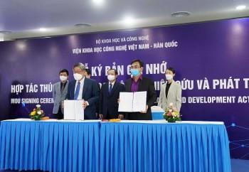 Viện KH&CN Việt Nam hợp tác nghiên cứu khoa học với Hàn Quốc