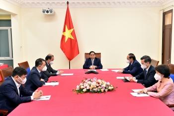 Thủ tướng điện đàm với Đặc phái viên của Tổng thống Hoa Kỳ về biến đổi khí hậu