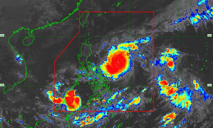 Goni thành siêu bão mạnh nhất năm, Philippines sơ tán khẩn cấp hơn 1 triệu người