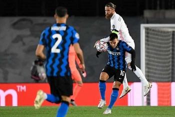 Bảng xếp hạng Cup C1 2020/21 ngày 4/11: Real thắng Inter, MC, Liverpool giữ vững phong độ
