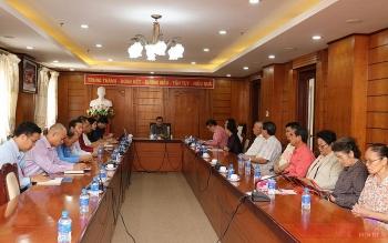 Cộng đồng Việt Nam tại Lào góp ý Dự thảo văn kiện trình Đại hội XIII