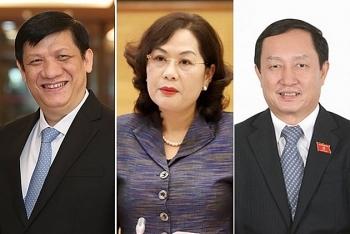 Chân dung Thống đốc và hai Bộ trưởng mới được bổ nhiệm
