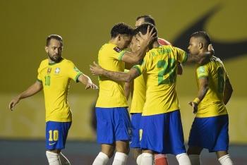 Bảng xếp hạng vòng loại World Cup 2022 khu vực Nam Mỹ mới nhất: Brazil đòi lại ngôi số 1 từ Argentina