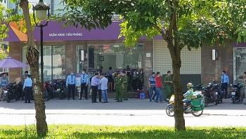 Nam thanh niên liều lĩnh xông vào cướp ngân hàng ở TP.HCM