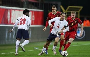Bảng xếp hạng bóng đá UEFA Nations League 2020/2021: Thua Bỉ, Anh bị loại sớm