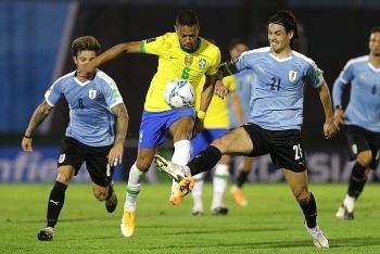 Bảng xếp hạng vòng loại World Cup 2022 khu vực Nam Mỹ: Argentina bám đuổi Brazil