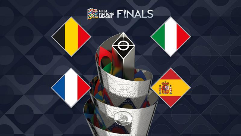 Xác định xong 4 đội vào bán kết Nations League 2020/21: Tứ anh tài tranh vương