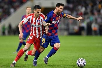 Lịch thi đấu vòng 10 La Liga 2020/21: Atletico Madrid vs Barcelona