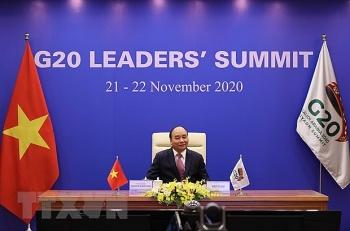Thủ tướng dự phiên thảo luận về xây dựng tương lai bền vững, bao trùm