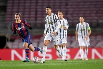 Ronaldo lu mờ Messi trong trận