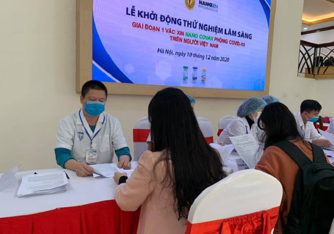 Ngày đầu tuyển tình nguyện viên thử nghiệm vaccine COVID-19: Đã có khoảng 150 người đăng ký