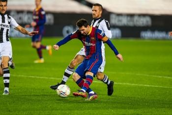 Kết quả, Bảng xếp hạng bóng đá Tây Ban Nha (La Liga) ngày 14/12: Messi giải cứu Barcelona