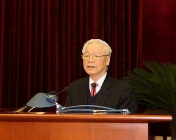 Bế mạc Hội nghị Trung ương 14: Nhất trí cao nhân sự tham gia Bộ Chính trị, Ban Bí thư khóa XIII