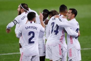 Kết quả, Bảng xếp hạng La Liga ngày 21/12: Benzema tỏa sáng, Real đuổi kịp Atletico