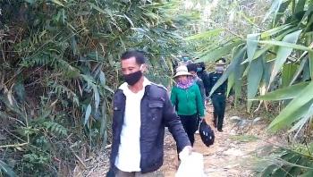 Nhiều đối tượng nhập cảnh trái phép từ biên giới Lào vào Việt Nam
