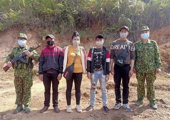 Điện Biên: 4 đối tượng nhập cảnh trái phép từ Lào vào Việt Nam qua đường mòn biên giới