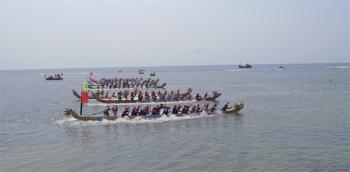 Bảo tồn và phát huy giá trị Lễ hội đua thuyền tứ linh ở đảo Lý Sơn