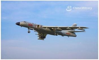Máy bay ném bom Trung Quốc tập trận tấn công trên biển Đông
