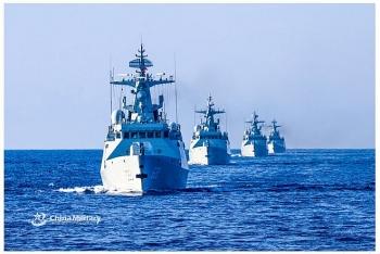 Mỹ tuần tra gần Hoàng Sa, Trung Quốc tuyên bố tập trận bắn đạn thật trên Biển Đông