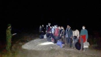 Phát hiện 13 công dân nhập cảnh trái phép từ Trung Quốc qua đường mòn biên giới