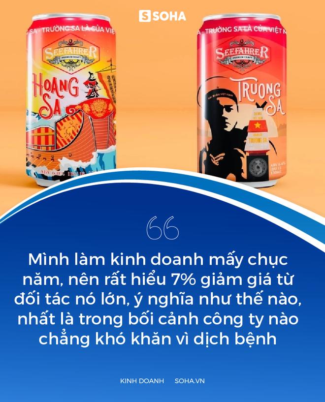 Cha đẻ của bia biển đảo: Khi uống bia, thay vì hò dô, hãy hô to Hoàng Sa, Trường Sa là của Việt Nam! - Ảnh 7.
