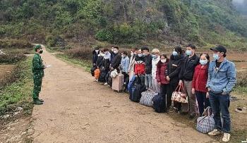 Phát hiện 16 công dân trốn qua đường mòn, nhập cảnh trái phép từ Trung Quốc