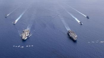Hoạt động quân sự của Mỹ ở Biển Đông năm 2020 là điều lệ chưa từng có