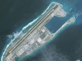 Phát hiện Trung Quốc xây dựng trái phép trên đá chữ thập ở quần đảo Hoàng Sa