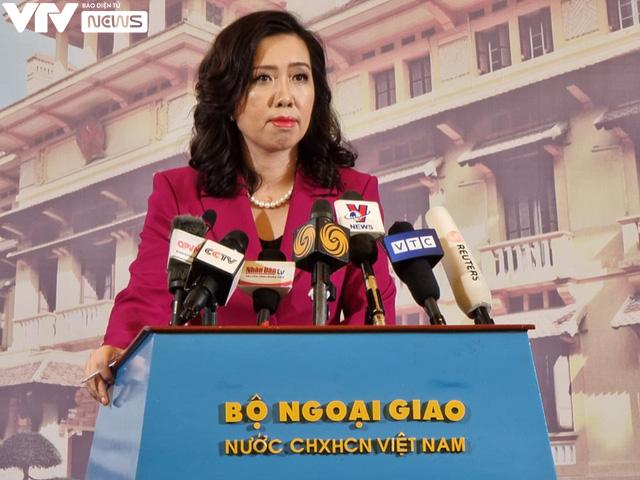 Bộ Ngoại giao khẳng định Trung Quốc đang xâm phạm chủ quyền của Việt Nam