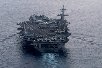 Tàu sân bay Mỹ vào Biển Đông