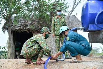 Kiên Giang: Mang nước ngọt về biên giới chữa khát cho dân