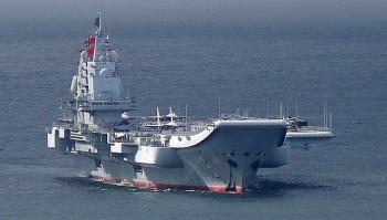 Nhóm tàu tác chiến của Trung Quốc lại vào Biển Đông