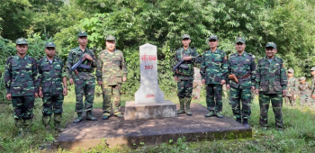 Tăng cường tuần tra song phương tuyến biên giới Việt Nam - Lào