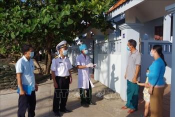Đảm bảo phòng, chống dịch COVID-19 trên quần đảo Trường Sa