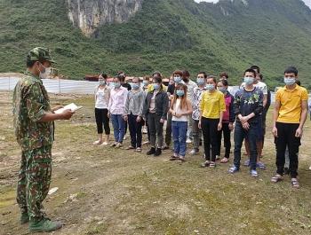 Cao Bằng: Phát hiện 44 người nhập cảnh trái phép từ biên giới Trung Quốc trốn cách ly