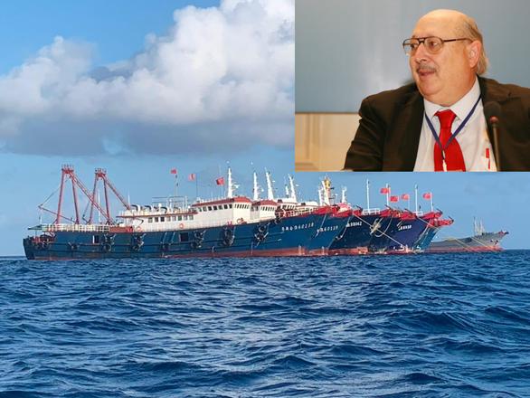 Chuyên gia làm thuê cho Trung Quốc lên tiếng về Biển Đông