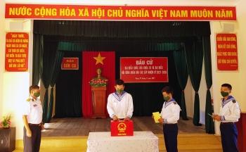 Bầu cử sớm ở huyện đảo Trường Sa, tỉnh Khánh Hòa
