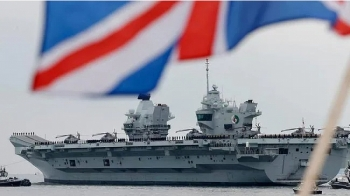 Anh cử tàu chiến HMS đi qua Biển Đông