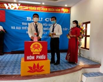 Huyện đảo Bạch Long Vỹ hoàn thành bầu cử sớm