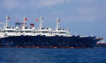 Mưu đồ của Trung Quốc khi điều 300 tàu ở Biển Đông