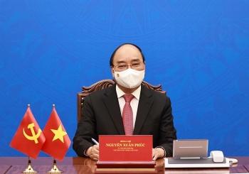 Chủ tịch nước điện đàm đề nghị Trung Quốc xử lý vấn đề trên biển phù hợp với luật pháp quốc tế