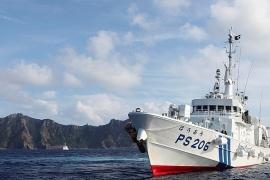 Nhật Bản gửi công hàm phản đối 4 tàu Trung Quốc hoạt động trong vùng biển gần đảo Senkaku