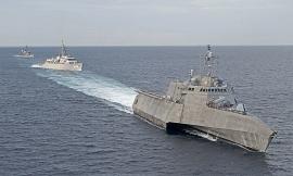 Chiến hạm Mỹ, Nhật tập trận chung trên Biển Đông